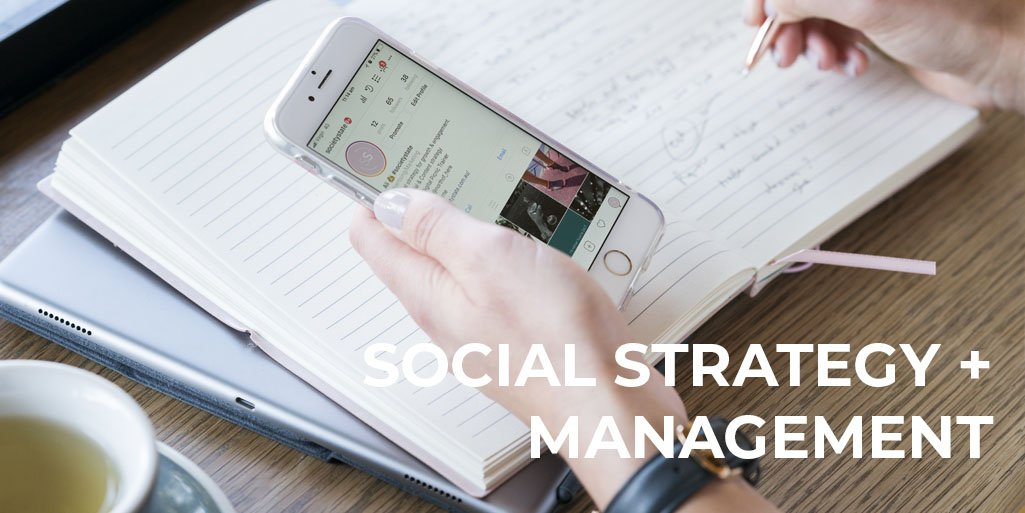 social media strategy and social media management